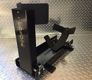 CONDOR Removable Motorcycle Wheel Chock Trailer SC2000, Made in USA