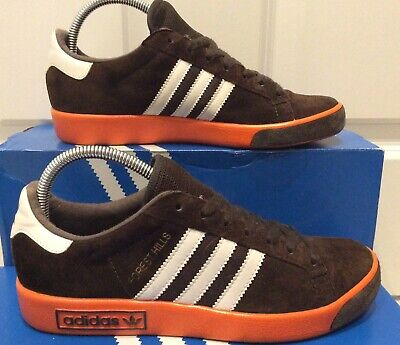 adidas Forest Hills Size 6 2011 Release Brown Orange Super Indoor Spzl Originals