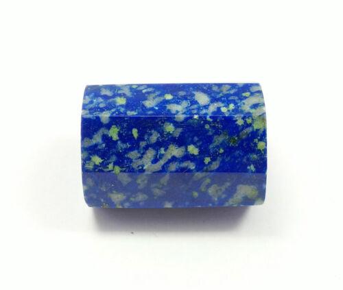 61.55 Ct Natural Lapis Lazuli Amazing Faceted Cube Unique Gemstone Rare Quality