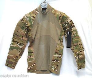 USGI-Multicam-OCP-Army-Combat-Shirt-MASSIF-Size-Large-NEW-WITHOUT-TAGS