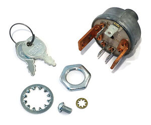 new ignition starter key switch for sears roper ayp suburban std 365401r ebay. Black Bedroom Furniture Sets. Home Design Ideas