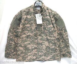 USGI-FRACU-Flame-Resistant-ACU-Shirt-Jacket-Large-Regular-NEW-WITH-TAGS