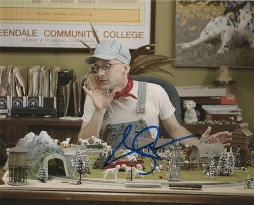 Jim Rash Community Autographed Signed 8x10 Photo COA 2020-1