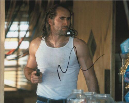 Nicolas Cage The Rock Autographed Signed 8x10 Photo COA 2019-31