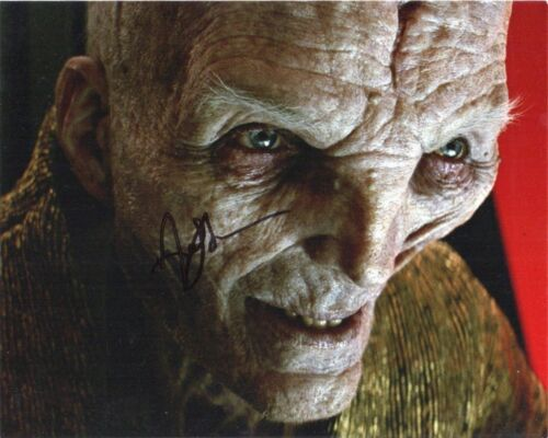 Andy Serkis Star Wars Autographed Signed 8x10 Photo COA #S16