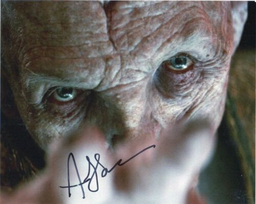 Andy Serkis Star Wars Autographed Signed 8x10 Photo COA #S15