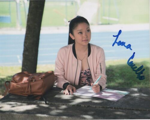 Lana Condor To All The Boys Autographed Signed 8x10 Photo COA EE1