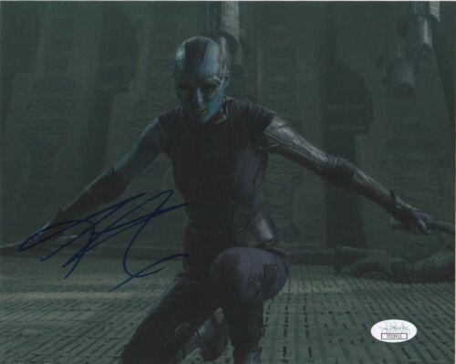Karen Gillan Guardians of the Galaxy Autographed Signed 8x10 Photo JSA COA #5