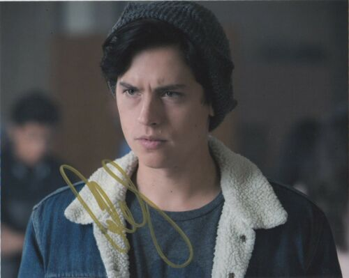 Cole Sprouse Riverdale Autographed Signed 8x10 Photo COA #S14