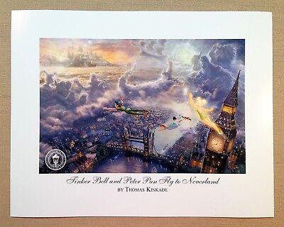 Thomas Kinkade Open Ed DISNEY print