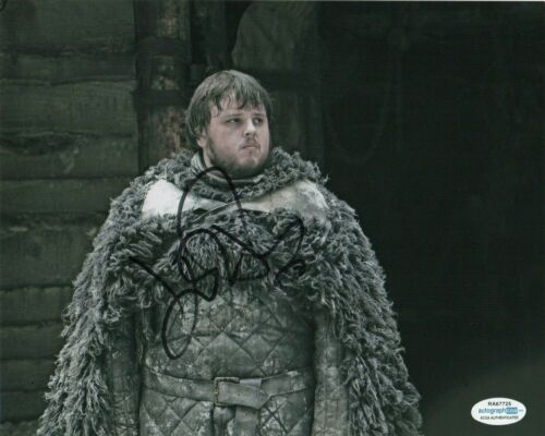 John Bradley Game of Thrones Autographed Signed 8x10 Photo ACOA MA18