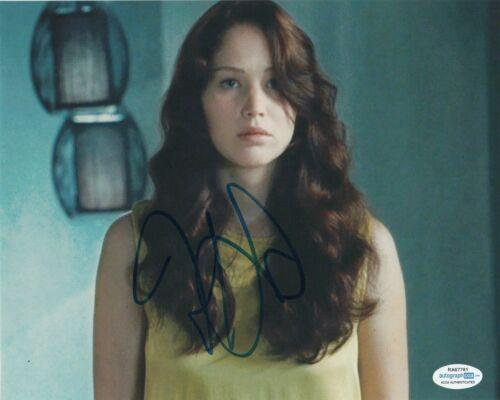 Jennifer Lawrence Hunger Autographed Signed 8x10 Photo ACOA #11