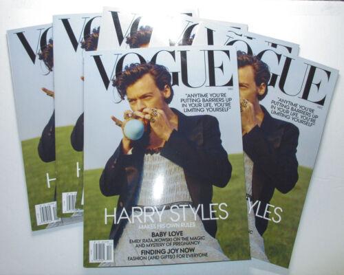 *EBAY GLOBAL SHIPPING* Vogue Magazine USA w/ HARRY STYLES December 2020 Issue