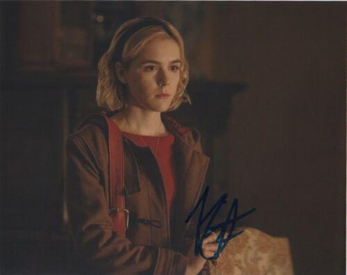 Kiernan Shipka Chilling Adventures Sabrina Autographed Signed 8x10 Photo COA 01J