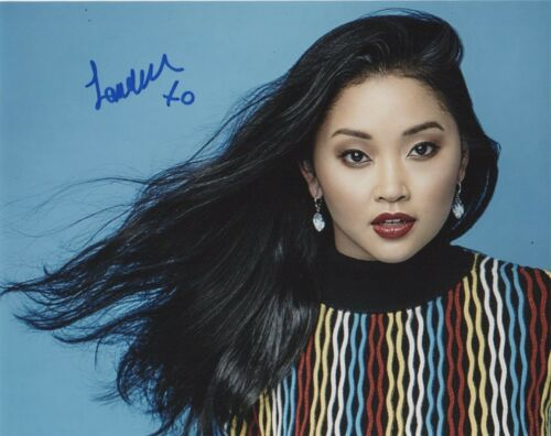 Lana Condor To All The Boys Autographed Signed 8x10 Photo COA R1Y