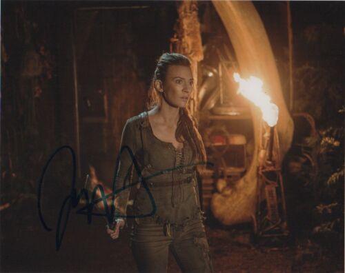 Jessica Harmon The 100 Autographed Signed 8x10 Photo COA R4I