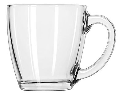 Glass Coffee Cup Mug Clear Set Ware Libbey Tea Water Box Of 6 Dinner Home - Mugs Clearwater