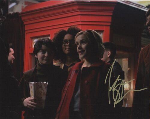 Kiernan Shipka Chilling Adventures Sabrina Autographed Signed 8x10 Photo COA 01P