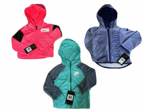 NIKE Toddler Girls THERMA ZipUp or Pullover Hooded Sweatshirts; Sizes 2T thru 6X