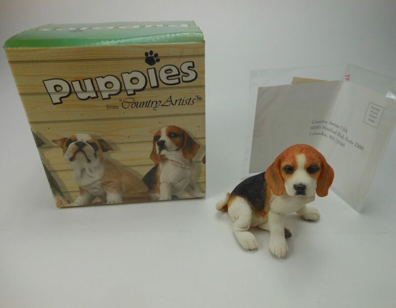 Country Artist Beagle Puppy NOS 2006 in 01995