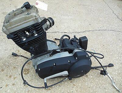 2006 Buell Blast 500 OEM Engine Motor w/ Clutch Lever Covers Hoses + More #U3032