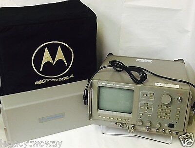 Motorola R2550azhs Communications Analyzer Test Equipment