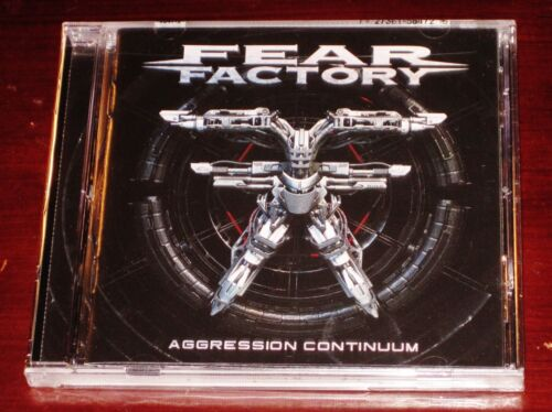 Fear Factory: Aggression Continuum CD 2021 Nuclear Blast Records USA 5847-2 NEW