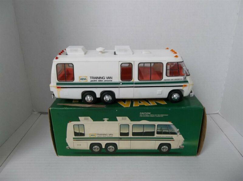 Vintage Hess Training Van 1978 Amerada Truck w/Box