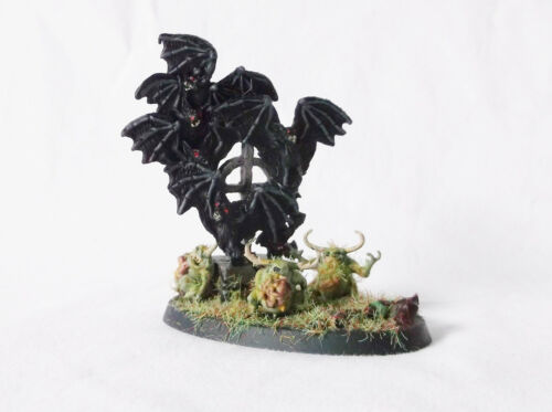 Reaper Bat Swarm/Warhammer Nurgles Scenery Decor-Custom Painted Pizzazz-OOAK