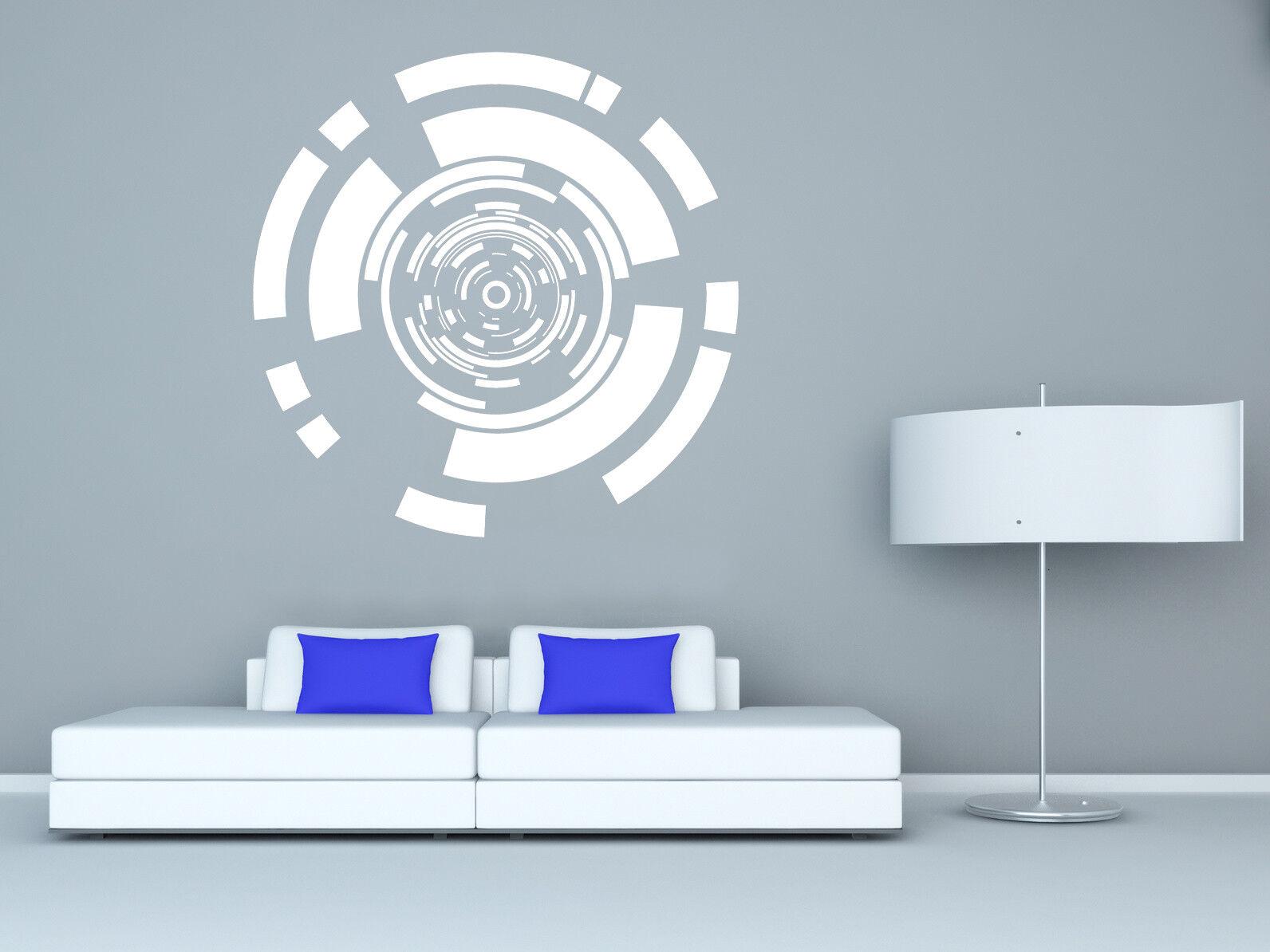 Kreis abstrakt Wandtattoo - Wandaufkleber - Hud