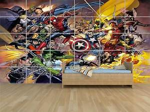 Marvel Avengers WAR Comics Geant Poster Chambre Enfants Room Kids