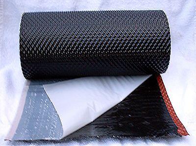 Wandanschluss Kaminanschluss Dachrolle / Alu strukturiert / schwarz / 5mx30cm