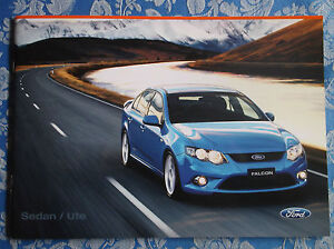 Ford Falcon FG brochure New Zealand issue