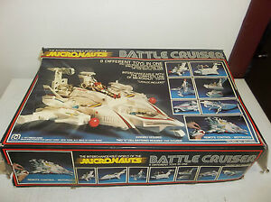 1977-Mego-Micronauts-Remote-Control-Battle-Cruiser-8-toys-in-1-Incomplete-Set