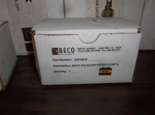 New BECO Automation Inc. Dairy Milker Milking Electronic Pulsator 325100-6