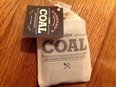NEW Hammond's Candy Coal Cinnamon Candies Christmas Holiday Stocking Stuffer](Candy Coal)
