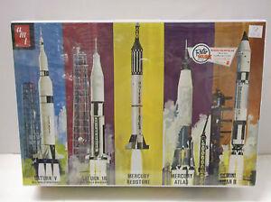 AMT 1 200 Scale Man in Space Rocket Plastic Model Kit Brand New in Box 700 06 | eBay
