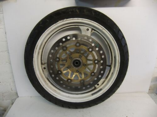 Suzuki GS500E FRONT WHEEL AND DISC AND TYRE GS500e