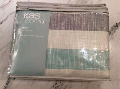 KAS ROOM | Greta | Twin Duvet Cover | NWT | 68in x 90in | 100% Cotton |
