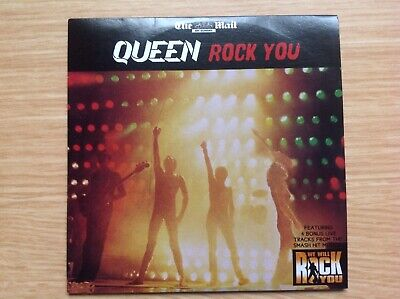 QUEEN Rock you. The Mail On Sunday Promo CD FREE UK POSTAGE