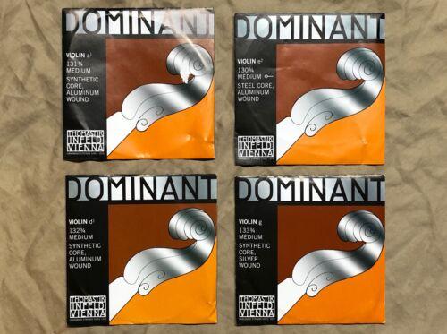 Thomastik-Infeld Dominant Violin String Set - 3/4 Medium