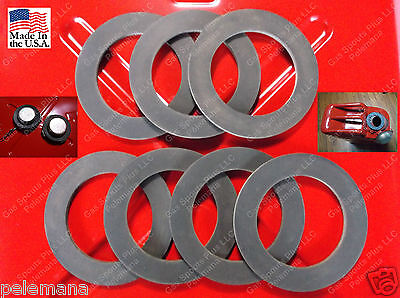 7 New Jerrycan Cap Gaskets Metal Gerry G Can 5 Gallon 20l Rubber Fuel Gas Usmc
