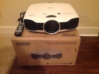 2D/3D Epson 5030UB PowerLite Home Cinema Projector With Box
