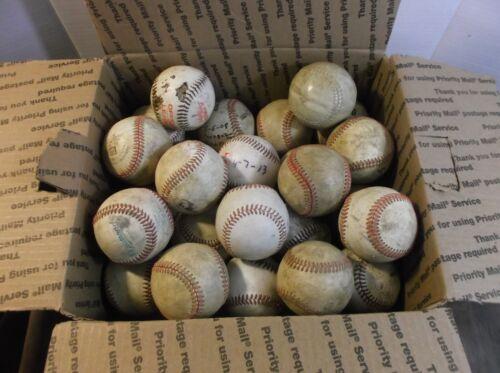 25 Used Baseballs