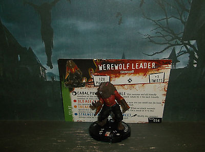 HORRORCLIX Werewolf Leader #54 W/CARDS NIGHTMARES