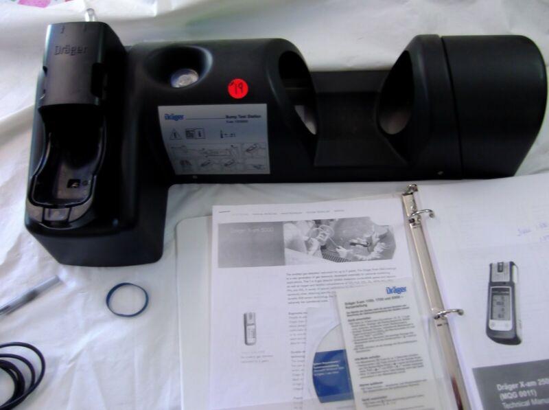 Draeger Bump Test Station #8319131 X-AM 1000/2000/5000 Series