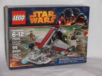 NEW SEALED 75035 LEGO Star Wars KASHYYYK TROOPERS Army Clone Builders 99 pc