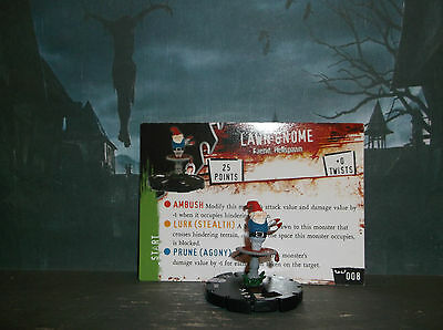 HORRORCLIX Lawn Gnome #008 W/CARD NIGHTMARES