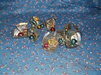 ksm. Home Crafted Christmas Bells Vintage Bells Can Lids Nice Sound Set of 2 ()