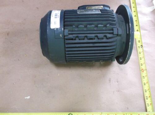 AEG 357076, HE 90L D4, IEC 60034, ELECTRIC MOTOR, 1.5 HP 1740RPM